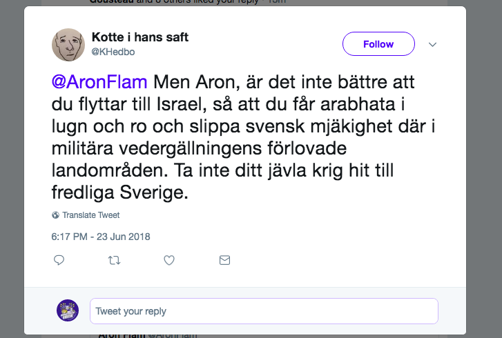 Karl Hedbo vänster antisemit.png
