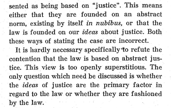 """Karl Olivecrona, """"Law as Fact"""", 1939, sid 152"""