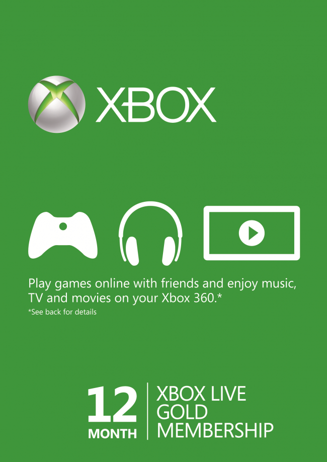 12 MONTHS XBOX LIVE GOLD MEMBERSHIP JUST £32.29 - With an Xbox LIVE Gold membership, take your Xbox 360 / Xbox One online to play Kinect and controller games with friends wherever they are. Instantly watch HD movies, TV shows and sports, and with Kinect, your voice is the remote control. Not sure what to play or watch?Quickly find new movies, songs or games with your voice. Even use your phone or tablet as a second screen to control and interact with what you're watching. Plus, now you can explore the web on your TV with Internet Explorer for Xbox. Entertainment is more amazing with Xbox.
