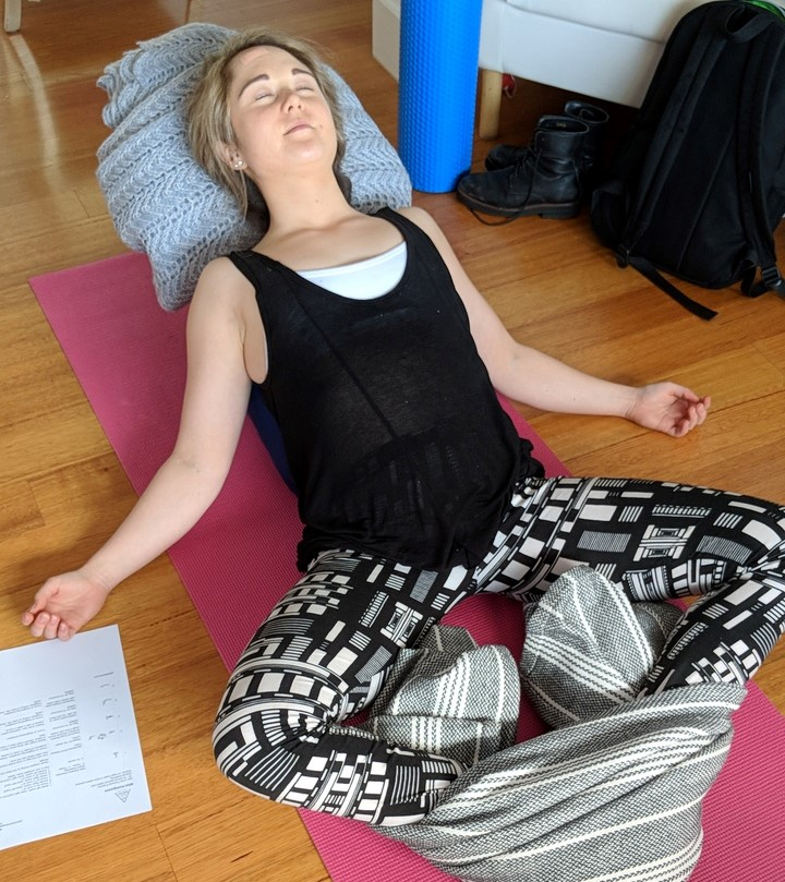 One on One and Restorative Yoga at PT for the Mind Mim