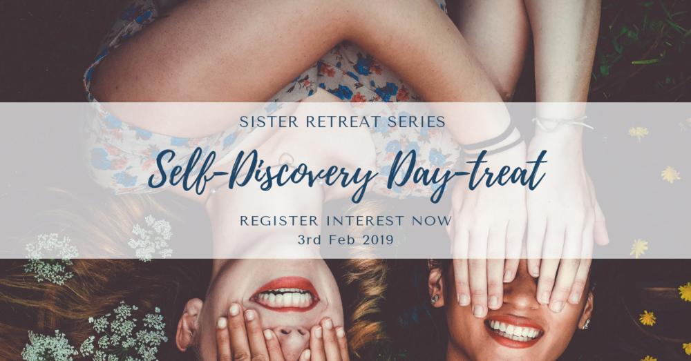 Sunday 3rd Feb - Self Discovery Day-TreatSunday 10:00 am - 5:00 pm*Optional Self Discovery Overnight-TreatSunday 10:00 am - Monday 12:00 pm
