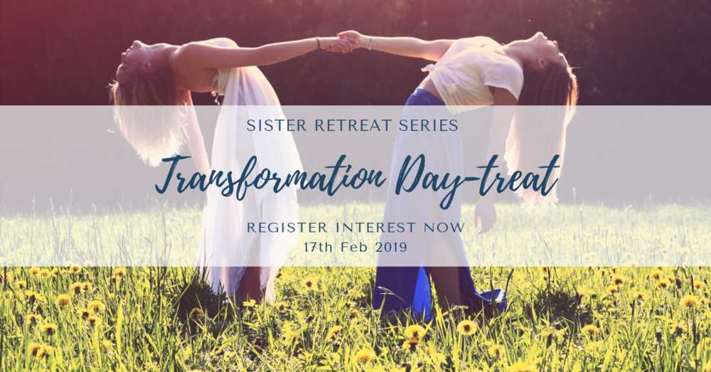 Sunday 17th Feb - Transformation Day-TreatSunday 10:00 am - 5:00 pm*Optional Transformation Overnight-TreatSunday 10:00 am - Monday 12:00 pm
