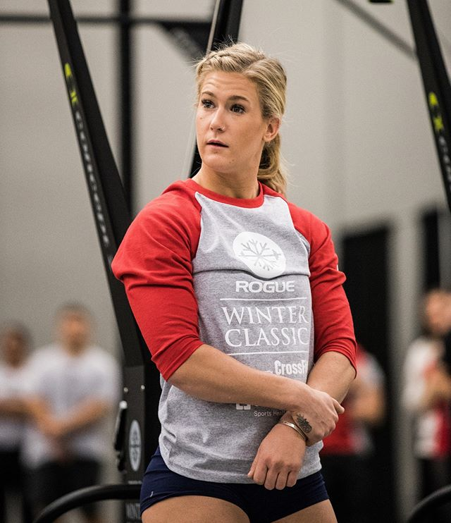 The look you give your friends when they ask you if you're going to redo the open WOD today.... #dafuq #oneanddone #okaymaybe #intheopen #crossfitopen #19point4 #crossfit #crossfitgames #crossfitgirls #womenoffitness #winterclassic #winteriscoming @jessicargriffith @roguefitness @reebok @crossfit 📸 @doooker