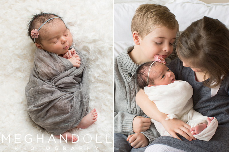 big-brother-and-sister-snuggle-with-their-newborn-baby-sister