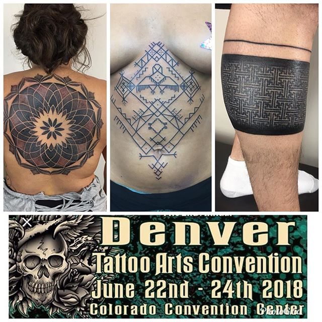 I'll be at @denvertattooartsconvention this year w/ @danmasontattoo at the @omkaratattoo booth! Come get something rad! #denver #denvertattooconvention2018 #denvertattooconvention #omkaratattoo #johnnykelly