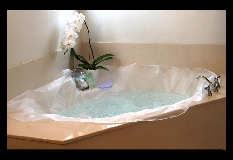 Oval Made to Measure TUBSKY™ — TUBSKY™ machine washable bathtub ...