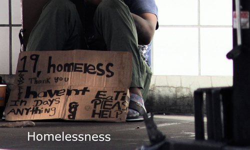 - For homelessness, we favor organizations that provide effective mental health services to homeless adults and food, clothing, and shelter to homeless children.  As with all of our causes, we reject the notion that
