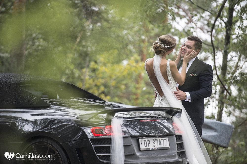 AUDI R8 WEDDINGCAR