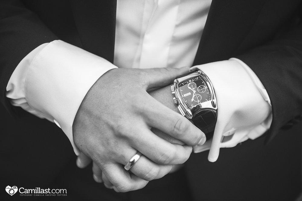 bryllup klokke fotograf