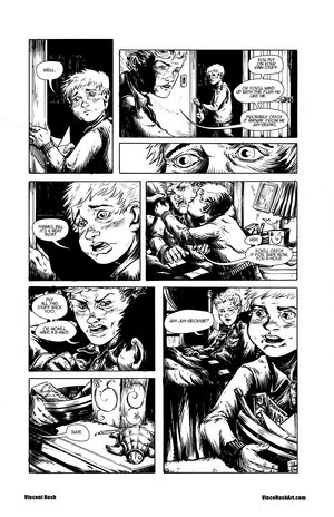 It Fan Comic Vince Rush Art