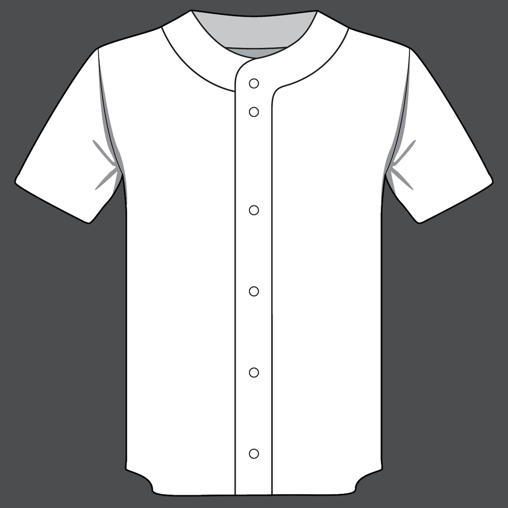 Full Button Baseball Jersey - Retail Price: $69.99  Team Price 12-23: $49.99 Team Price 24+: $44.99 Team Price 50+: Contact your Emblem Rep for a custom quoteFabric: Pinhole MeshSizes: YS, YM, YL, XS, S, M, L, XL, XXL, XXXLOptions: +Custom name $4.99 (Custom number included)