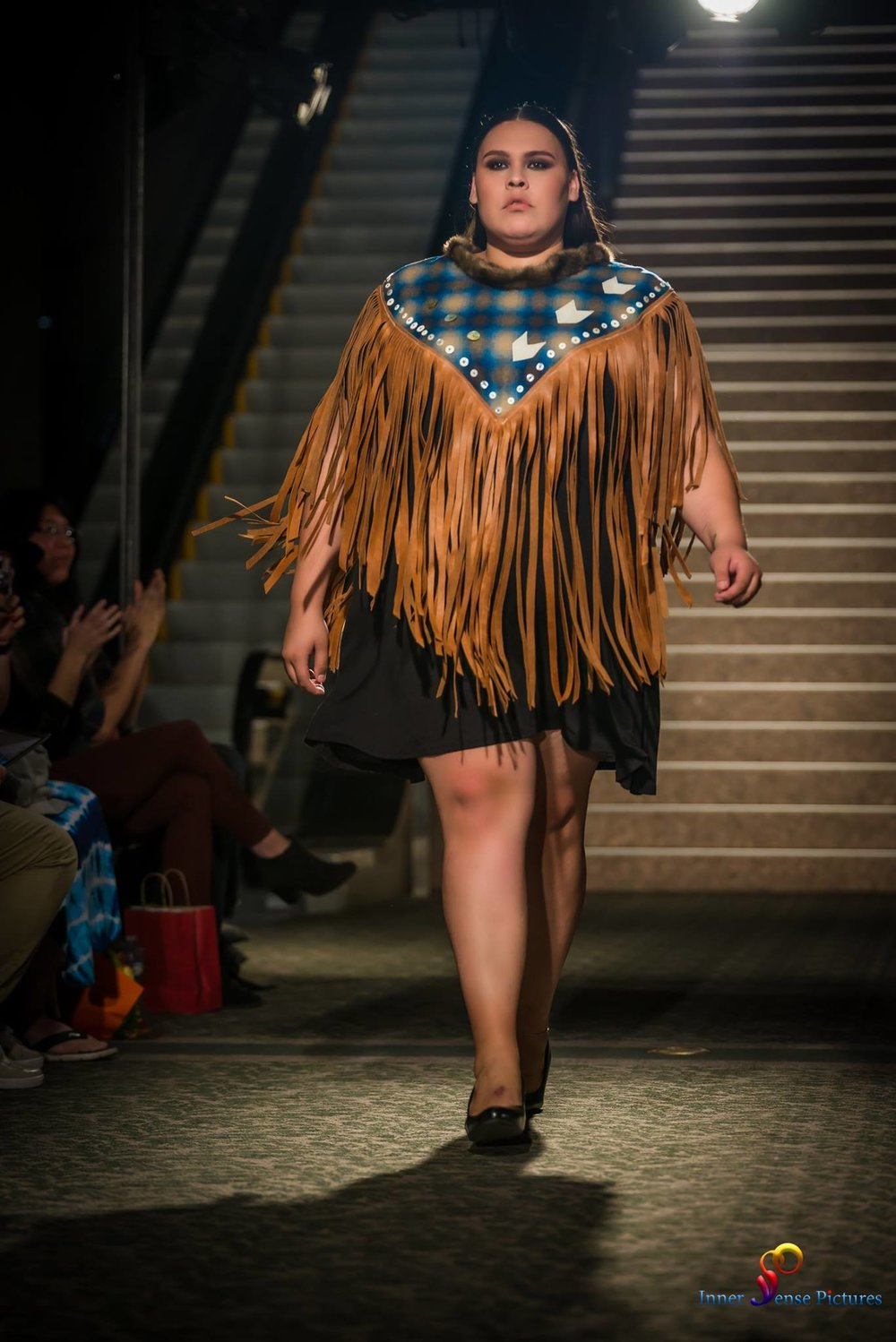 Reconciliation Cape featured at  Otahpiaaki 2017 .  (see  fashion shows )
