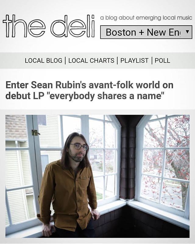 @thedelimag has been an awesome resource on New England's music scene for as long as I can remember. Thanks for the kind words! ❤️🎶🎶