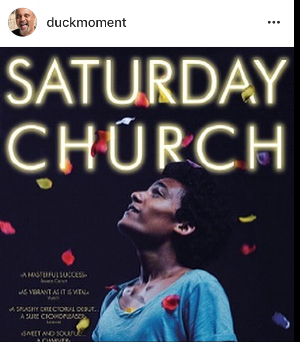 EVANDER DUCK JR. - Do yourself a favor this holiday weekend. Go out and see a truly beautiful and powerful film called SATURDAY CHURCH. Added bonus is also being able to watch the talented Evander Duck Jr. in his role as 'Father Lewis'.