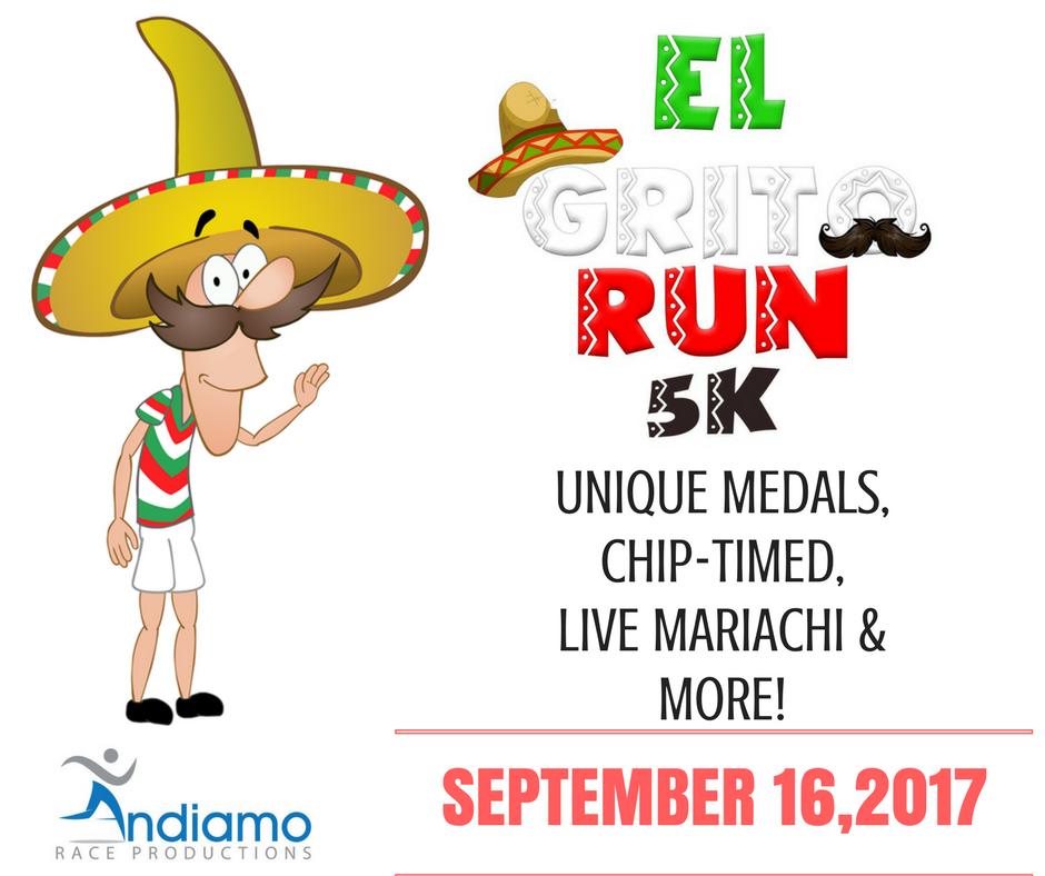 EL GRITO RUN 5K - SEPTEMBER 16