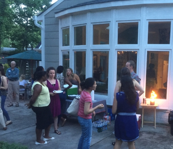 Summer Backyard BBQ - June 2018 - In time to bring in summer Capitol Hill interns