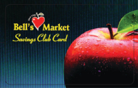 Come in and sign up for our   Savings Club Card!