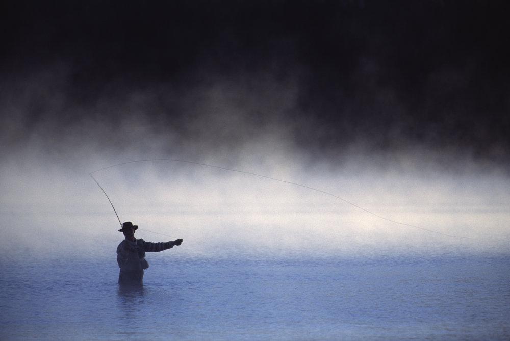 - fishing
