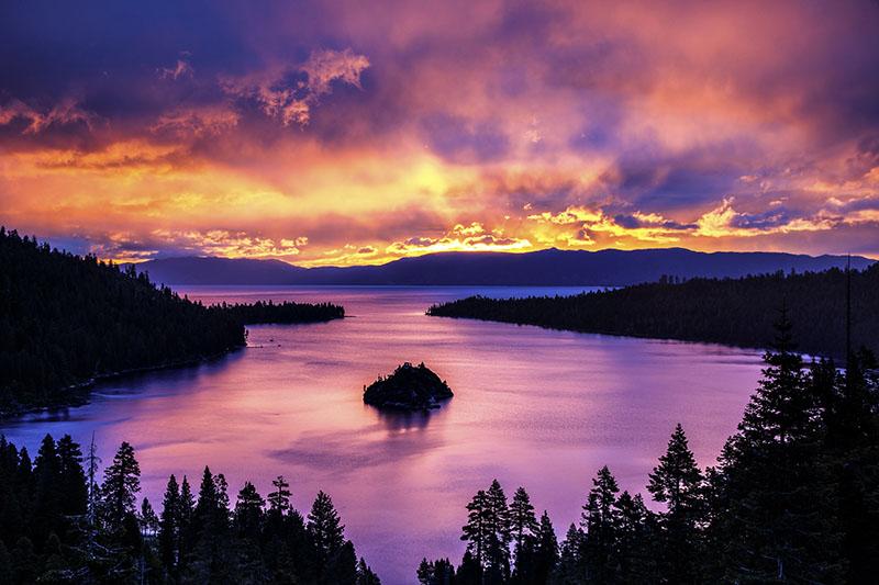 Not Photoshop enhanced. Just the most amazing sunrise ever.