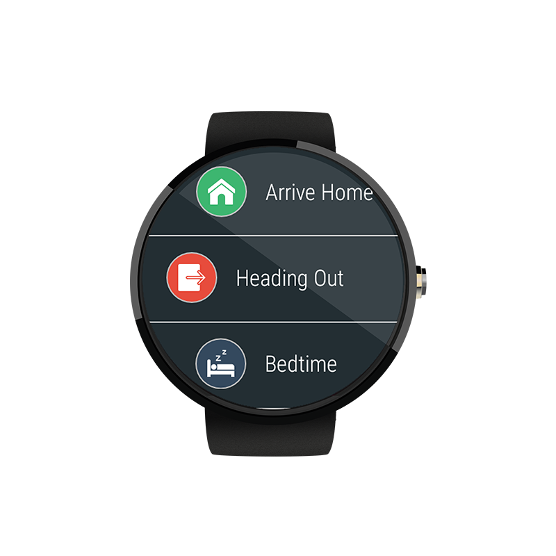 Yonomi for Android Wear - Add Yonomi on your Android Wear device and trigger your Routines from your wrist.
