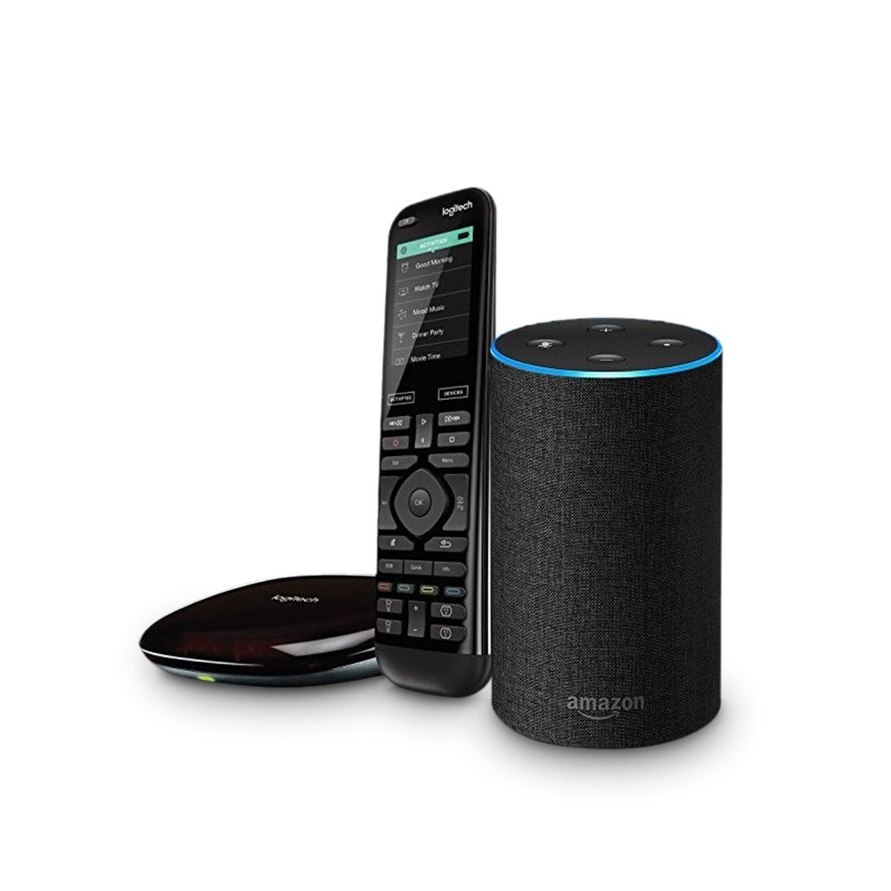 Amazon Smart Home Month - Echo 2nd Gen + Harmony Hub and Elite Remote