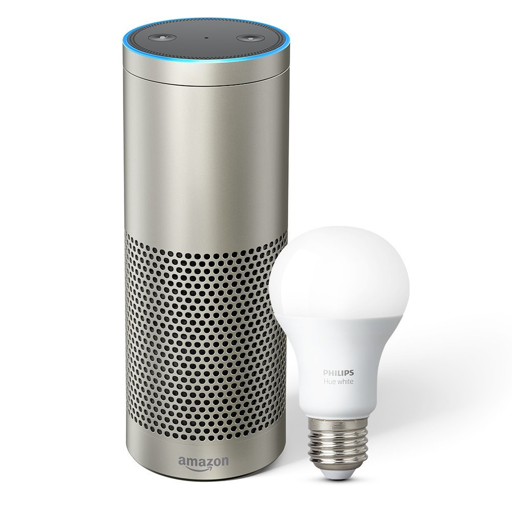 Amazon Smart Home Month - Amazon Echo Plus + Philips Hue White