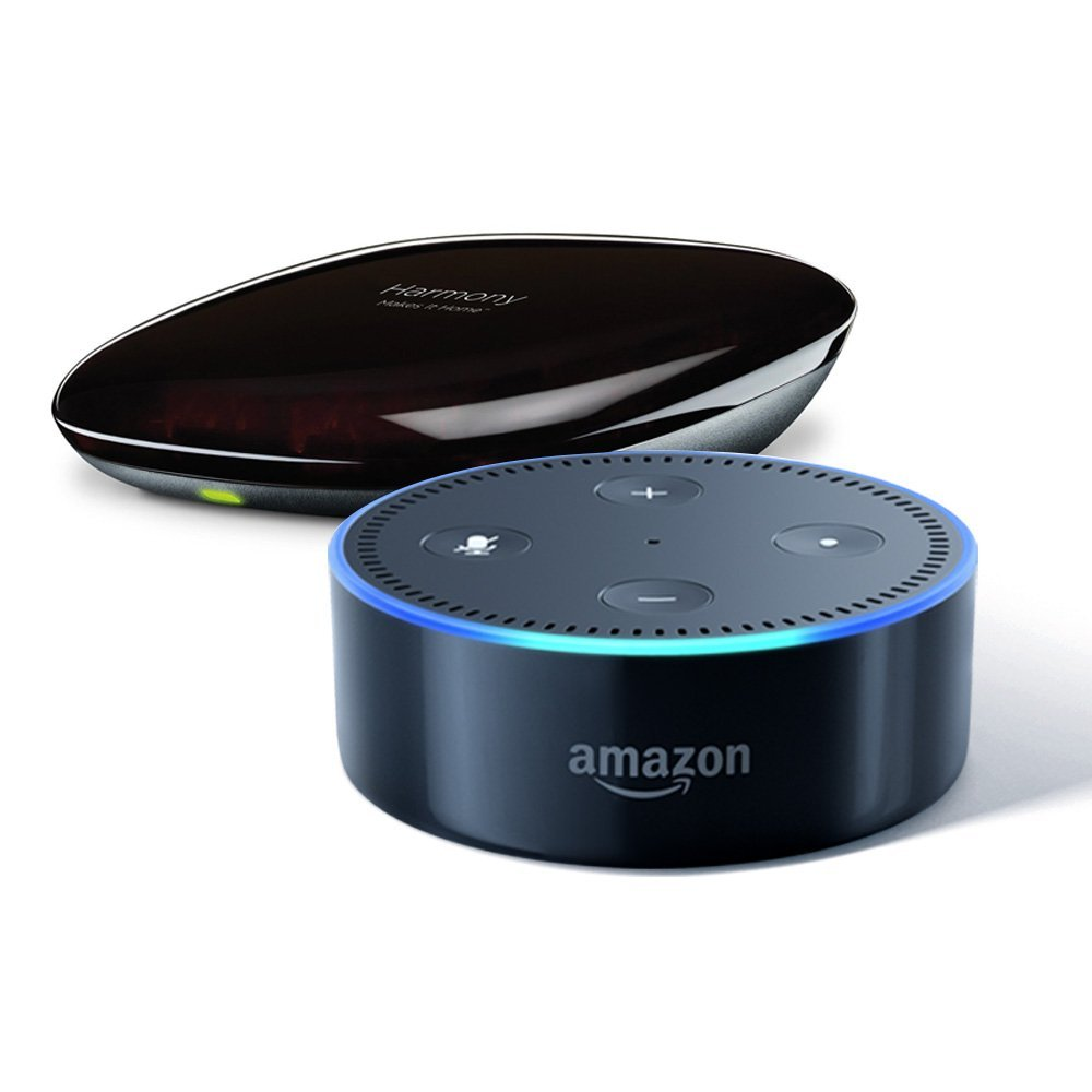 Amazon Smart Home Month - Echo Dot + Harmony Hub