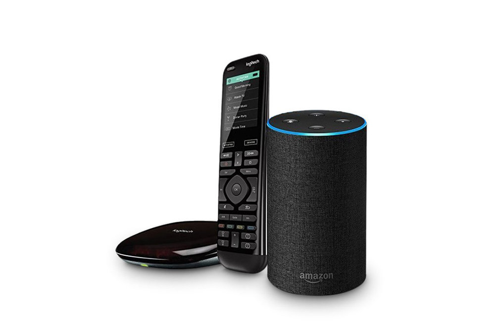 Amazon Smart Home Month - Echo 2nd Gen +Harmony Hub Hero.jpg