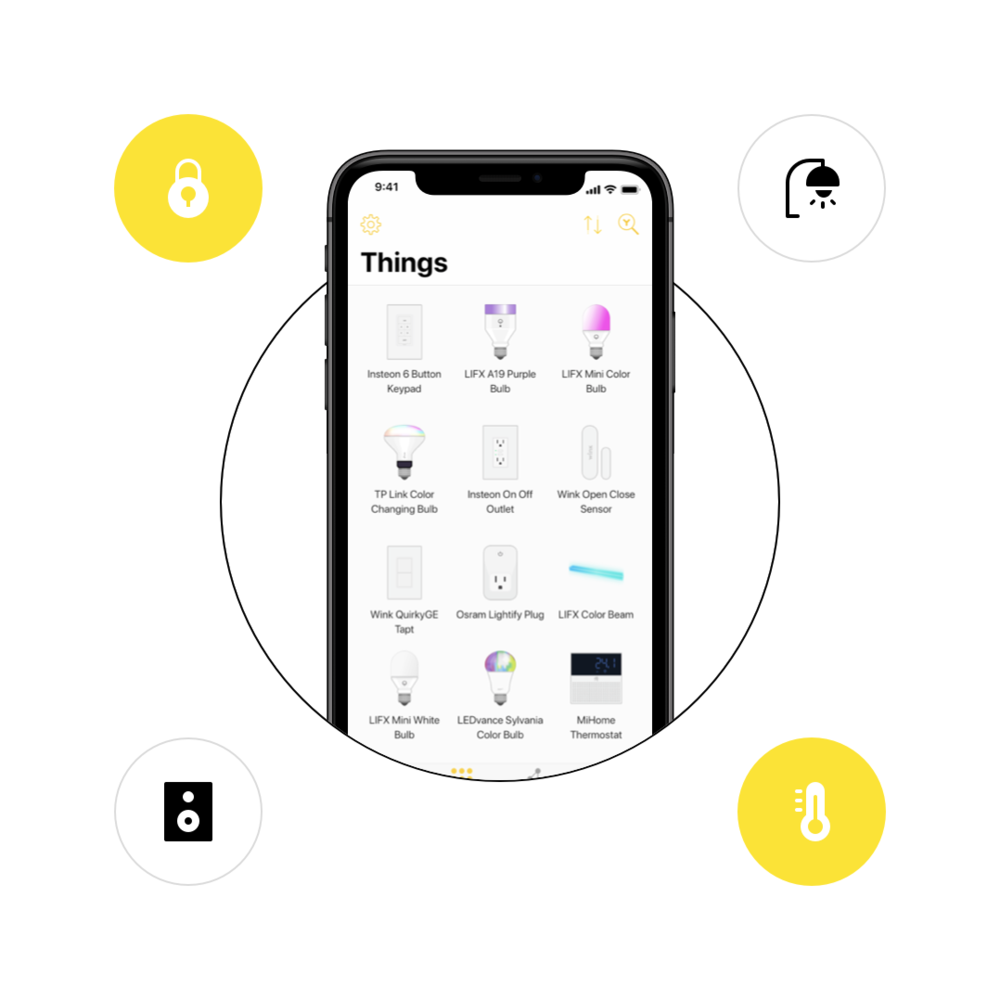 Yonomi Smart Home App - The free Yonomi app is the best way to create automated routines for all your smart home devices and bring your home to life. Yonomi makes it simple to discover, connect, and automate the most popular smart home devices using a single app.Learn More