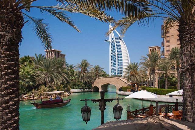 Record from Dubaï. Burj al Arab view from Madinat Jumeirah 🌴 #burjalarab #view #madinatjumeirah #madinat #jumeirah #canal #dubai #uae #photography