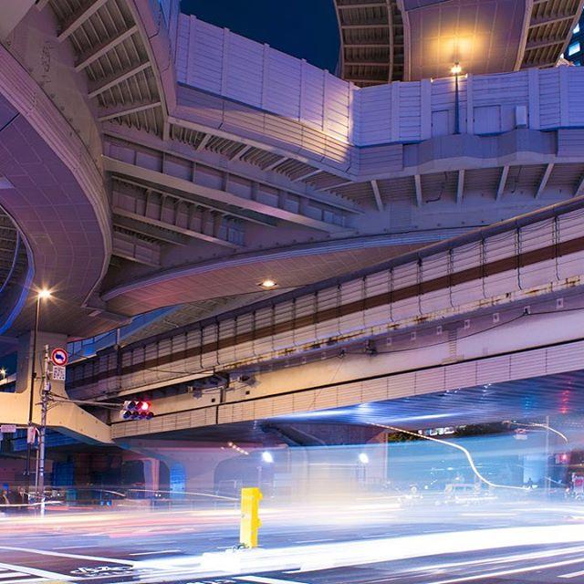 西新宿JCT  #東京 #tokyo #nishi #shinjuku #西新宿 #junction #jct #photography #nightphotography #西新宿JCT #carlights
