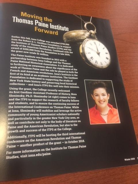 Feature in Iona Magazine