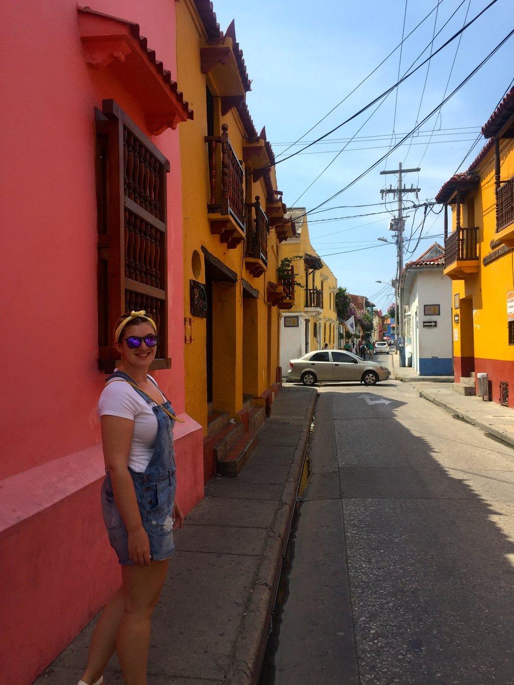 Colors in Cartagena