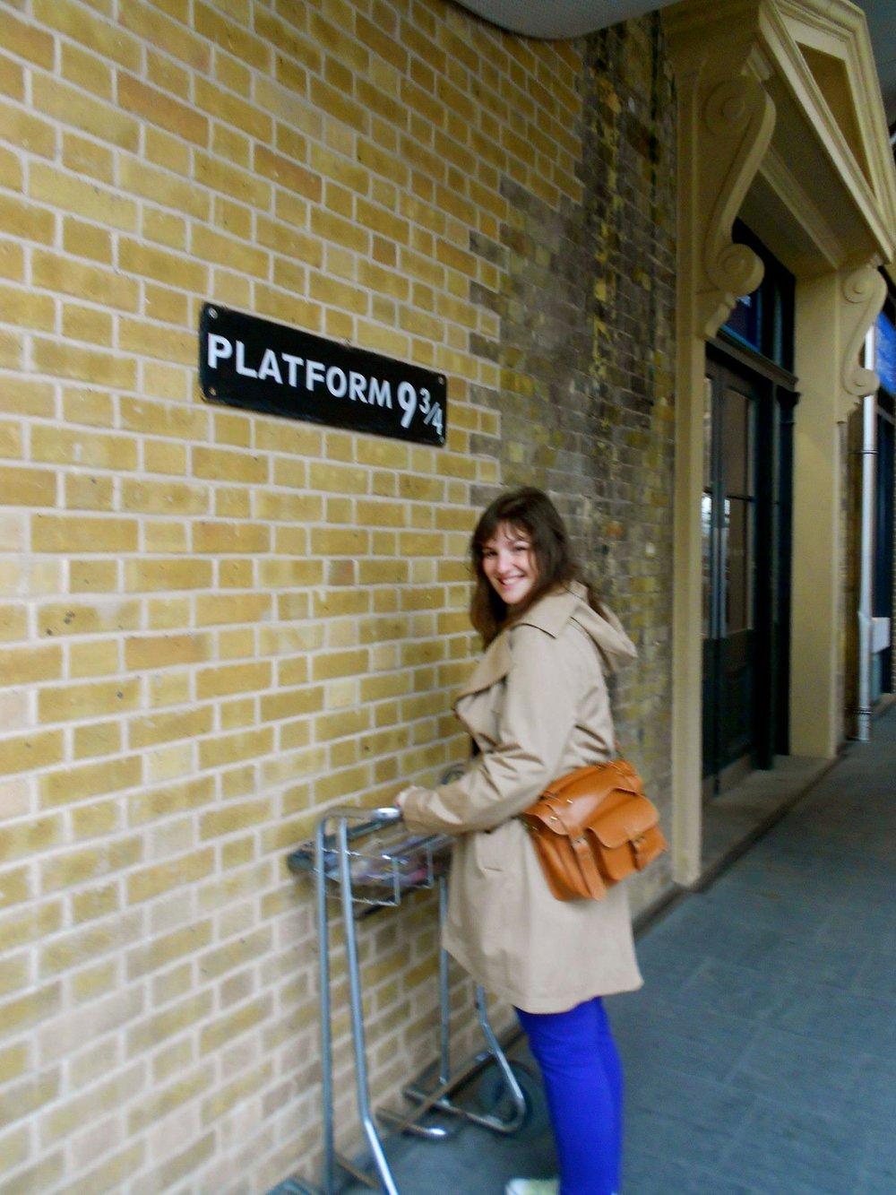 Awaiting the Hogwarts Express