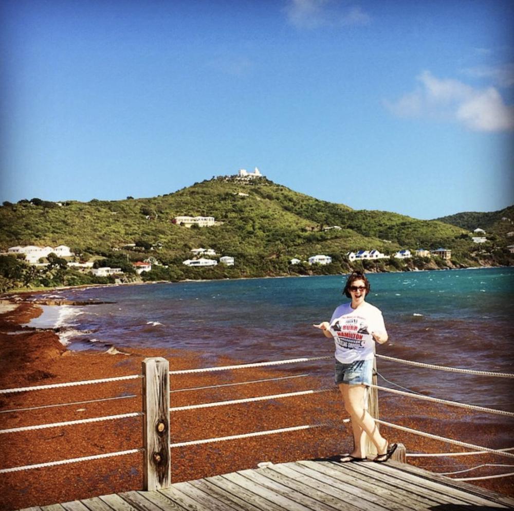 Hamilton-Hunting in St. Croix