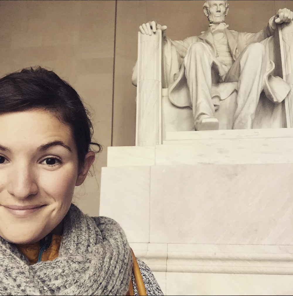 The Lincoln Memorial in D.C.