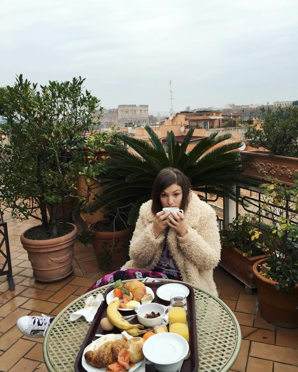 Favorite Breakfast in Rome