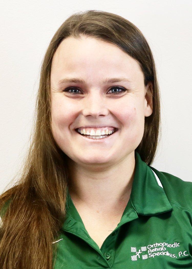 ORS Athletic Trainer Sarah WIlhelm at Lumen Christi High School