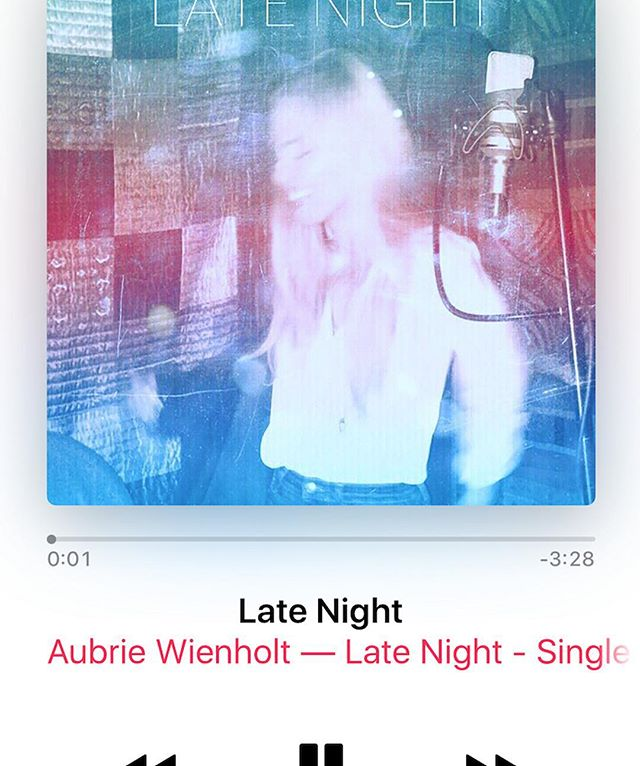 "Hey guys!!! My single ""Late Night"" just dropped on iTunes & Spotify! Please take a listen and let me know what you think!! Just a litttle bit excited! Link is in bio ⠀ ⠀ Special thanks to @charlieharpermusic"