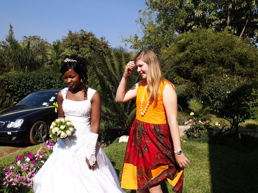 Zambian weddings are so much fun! And super pretty!
