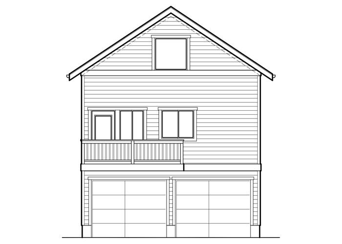 792.2 - Sq. Ft.: 792 Sq. Ft.Bed: 1Bath: 1Garage: 2 Car