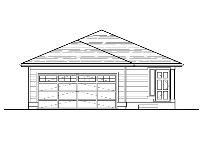 1262R.2 - Sq. Ft.: 1262 Sq. Ft.Bed: 3Bath: 2Garage: 2 Car