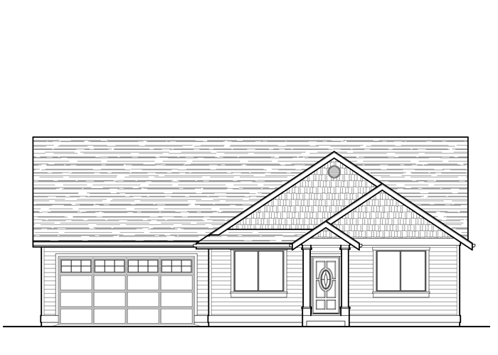 2038R.2 - Sq. Ft.: 2038 Sq. Ft.Bed: 3-4Bath: 2Garage: 2 Car