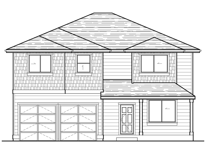 2454.2 - Sq. Ft.: 2454 Sq. Ft.Bed: 4Bath: 3.5Garage: 2 Car