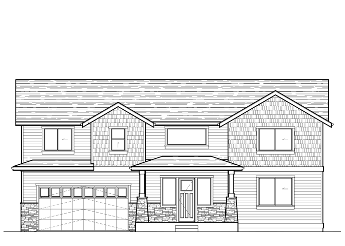 3017.2SL - Sq. Ft.: 3017 Sq. Ft.Bed: 4Bath: 2.5Garage: 2 Car