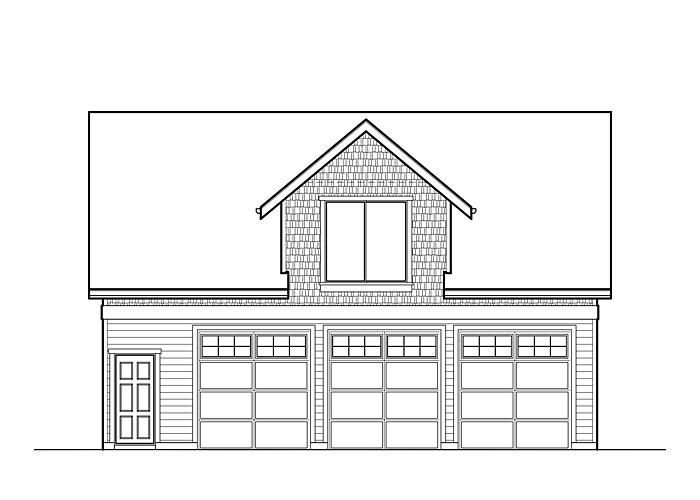 36x28 Garage with Living Space - Garage Sq. Ft.: 1008 Sq. Ft.Upper Floor Sq. Ft.: 758 Sq. Ft.Bedrooms: 1Bathrooms: 1Garage: 3 Car