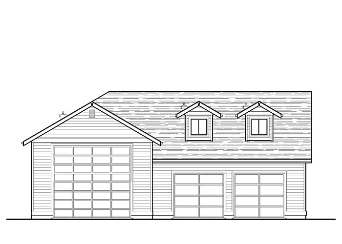 50x40 Garage with Storage Area - Garage Sq. Ft.: 1720 Sq. Ft.Storage Sq. Ft.: 472 Sq. Ft.Garage: 2 Car, 1 RV