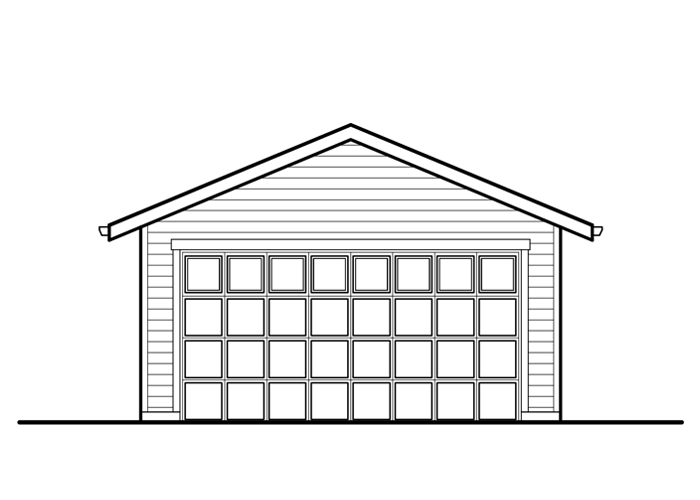 20x20 Garage - Garage Sq. Ft.: 400 Sq. Ft.Garage: 2 Car