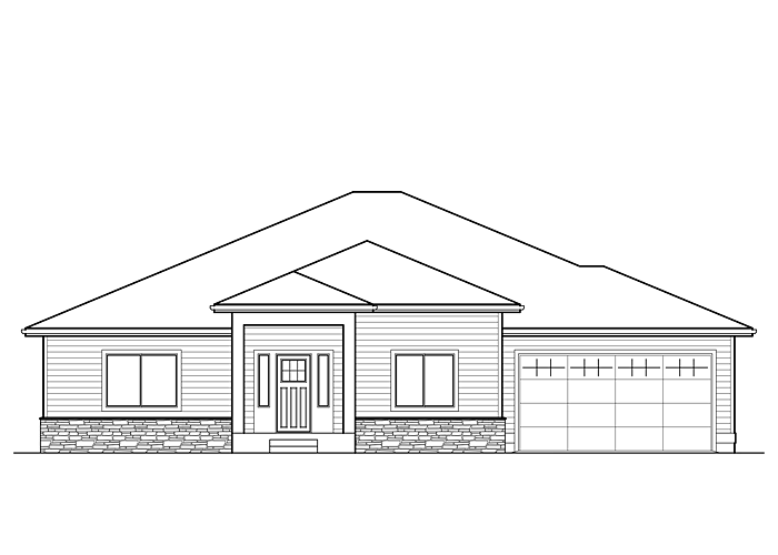 2566R.2 - Sq. Ft.: 2566 Sq. Ft.Bed: 3Bath: 2.5Garage: 2 Car