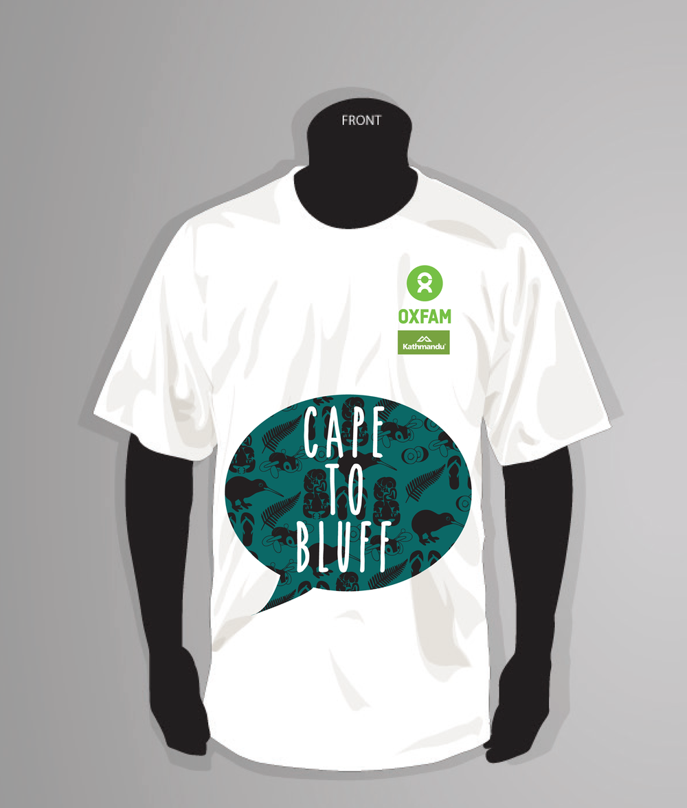 Cape to Bluff tee